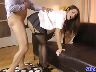 Attracting nubile dickblowing fortunate elder